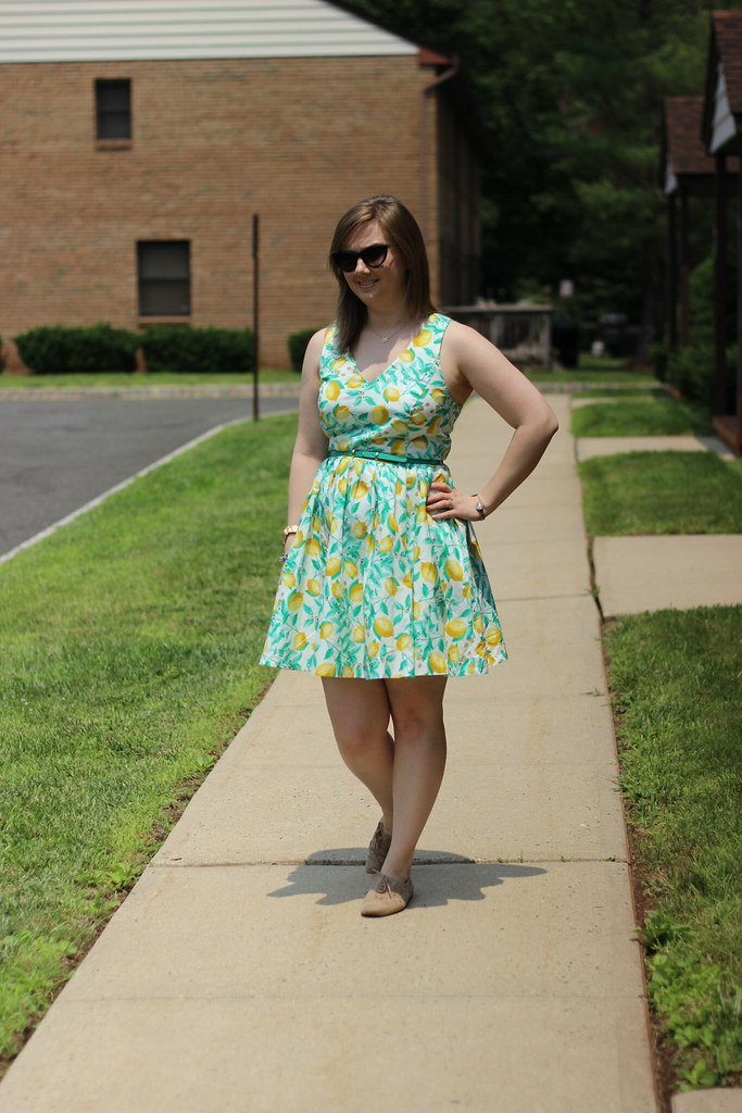 Kohls Lemon Dress (7)