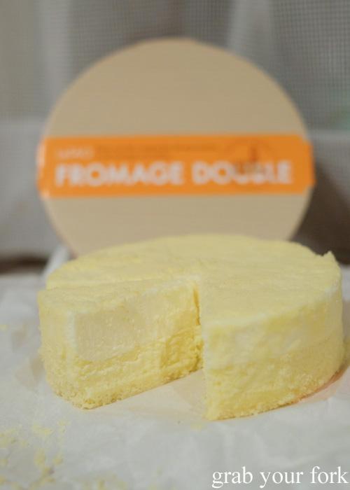 LeTAO double layer cheesecake in Otaru, Hokkaido