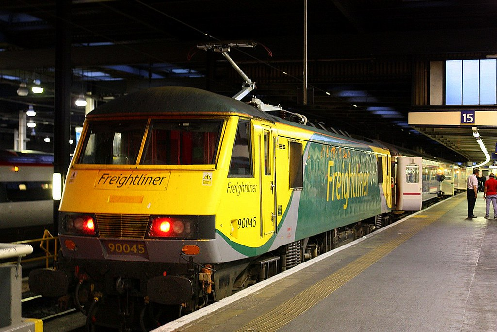 Late replacement at London Euston