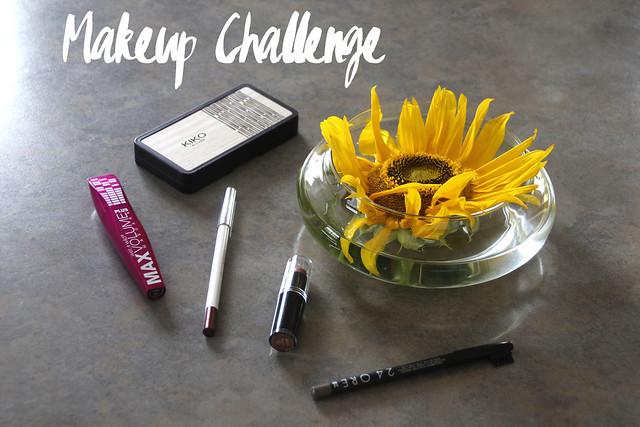 header makeup challenge