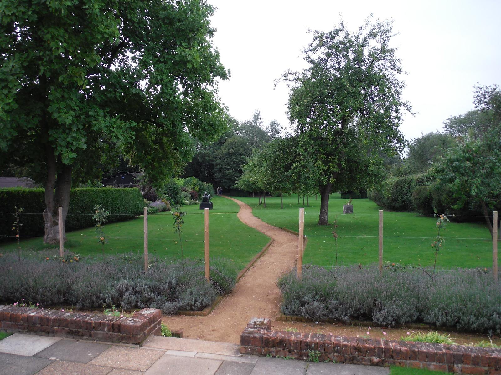 Henry Moore Foundation from Hoglands' terrace SWC Walk 164 Roydon to Sawbridgeworth via Henry Moore Foundation