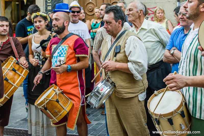 Y ahora se apuntan los tambores a la marcha por las calles!