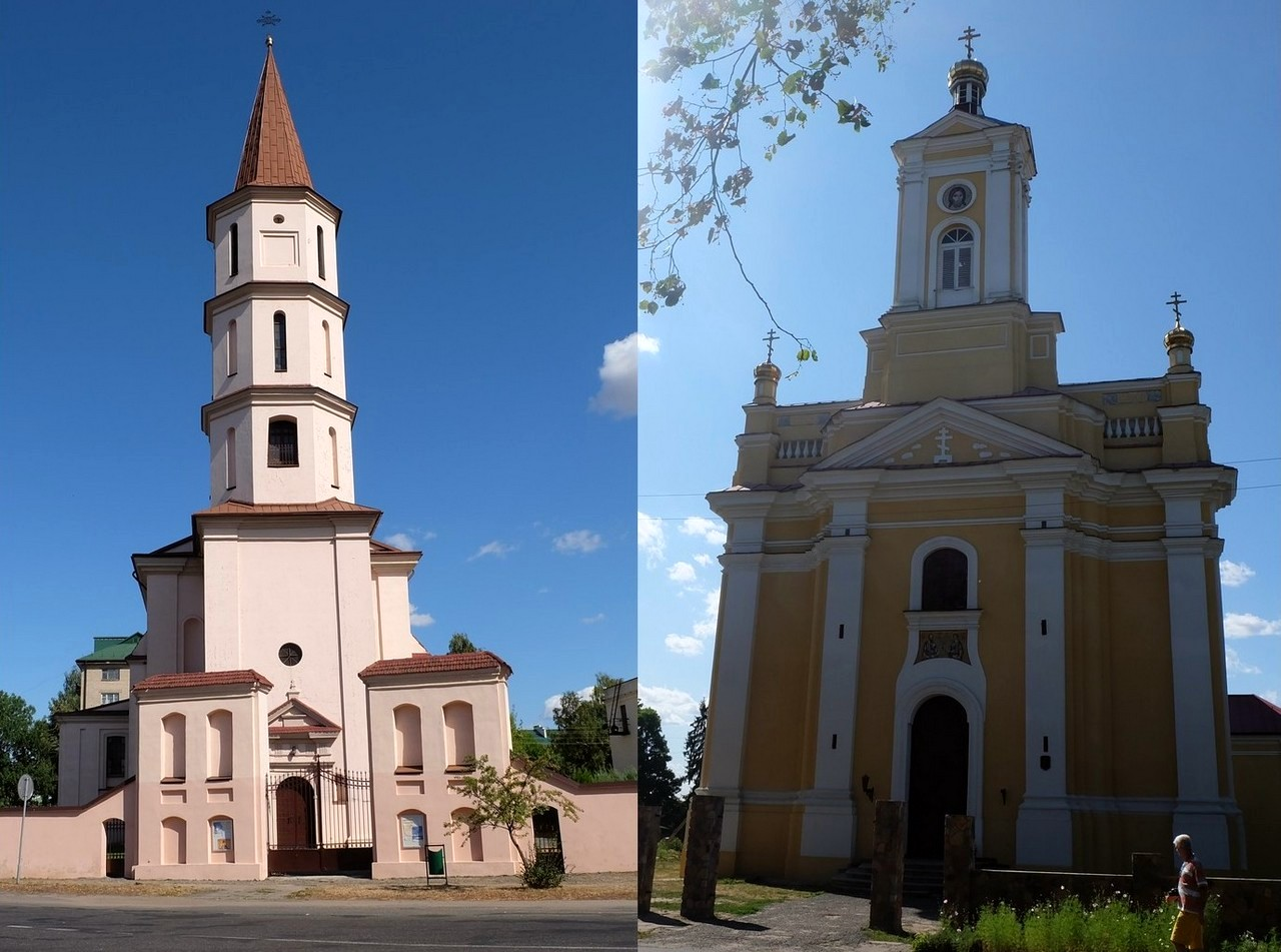 Костёл Святой Троицы и Церковь Святых Петра и Павла, Ружаны, Беларусь