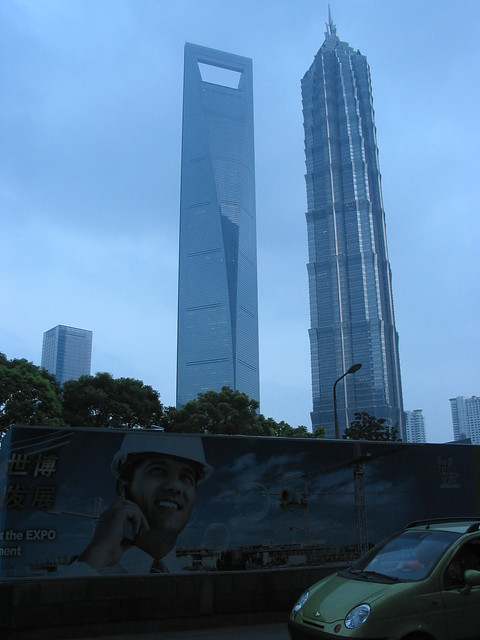 Shanghai World Financial Center Building & Jin Mao Tower
