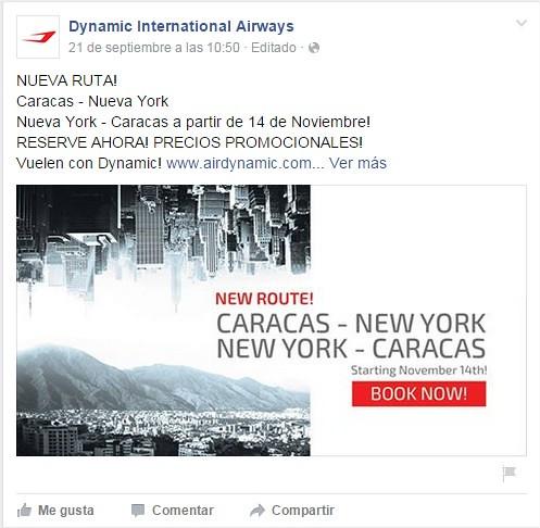 vuelo oferta caracas: