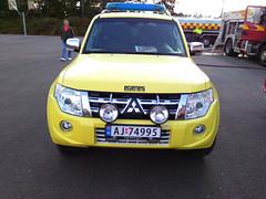 2012 Mitsubishi Pajero 4x4 Askim brann og redningskorps