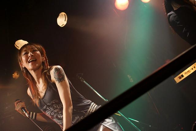 Juz live at Outbreak, Tokyo, 14 Oct 2015. 054