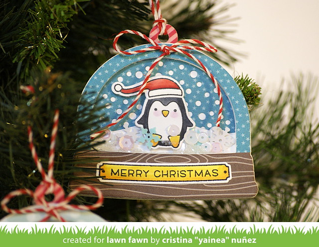 Ready Set Snow penguin ornament