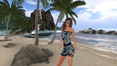 Gloria End of Summer Beach Pic