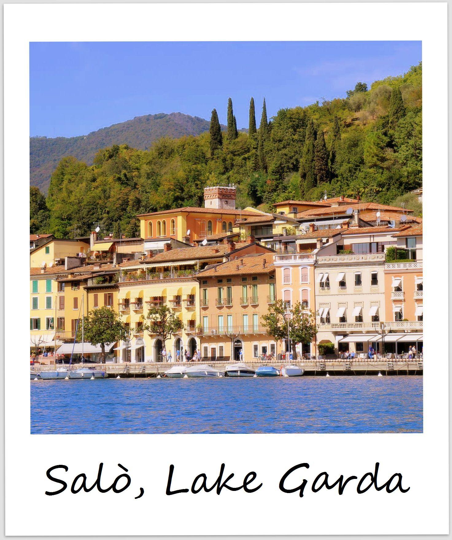 polaroid italy lake garda salo