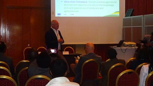 Dirk Hoekstra, LIVES Senior Project Advisor speaking at the AFAAS workshop (photo credit:ILRI\beamlak tesfaye)