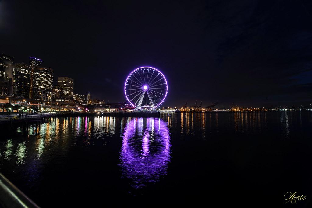 Seattle Great Wheel Ferris Wheel
