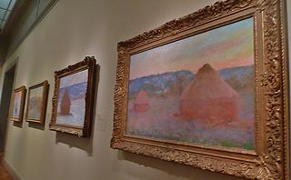 Chicago - Art Institute of Chicago Monet Stacks of Wheat