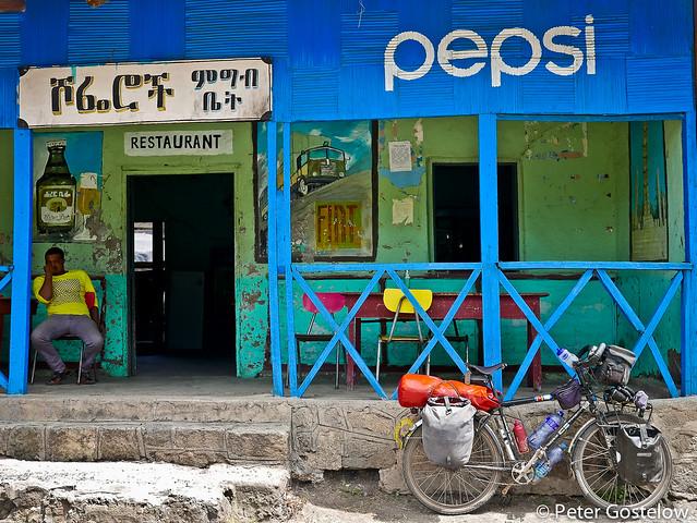 Pepsi stop restaurant