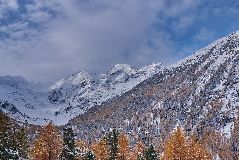 Snow covered - Val Morteratsch