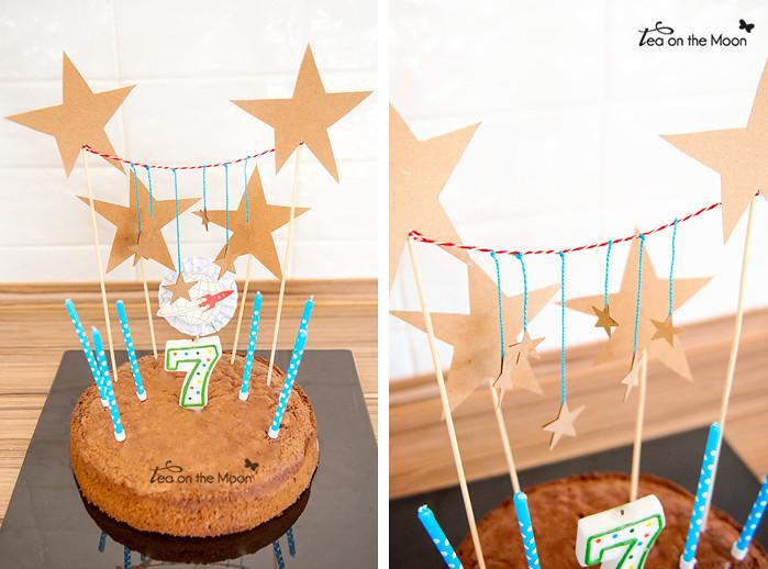 pastel cumpleaños astronauta