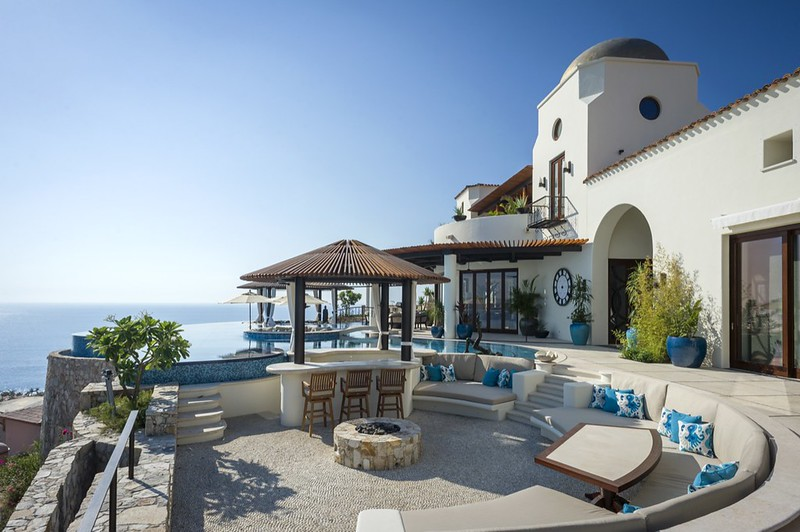 Вилла на побережье Мексики Casa Fryzer