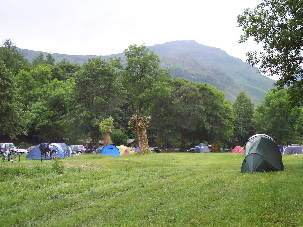 Camped at Great Langdale
