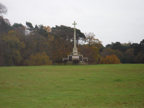 Ampthill Camp Memorial Cross
