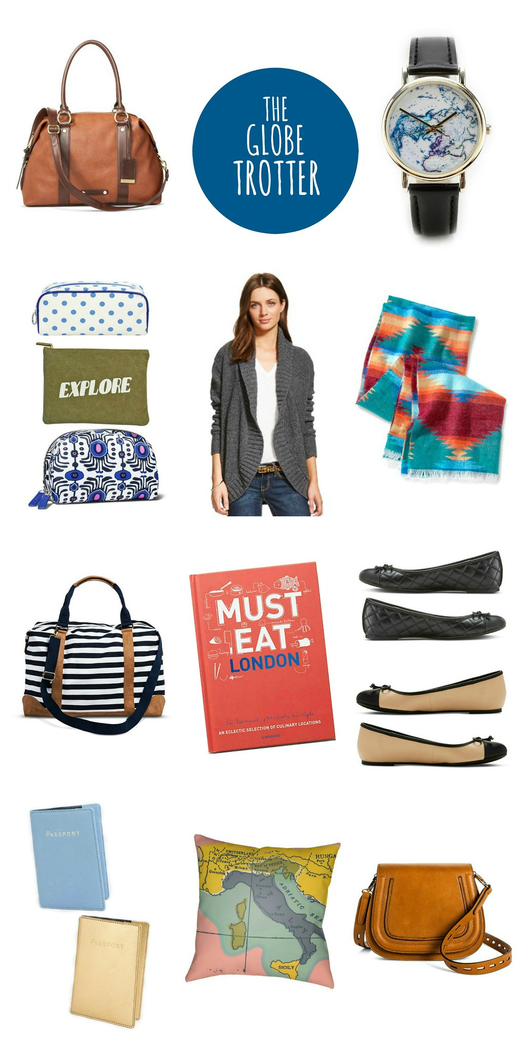 gift guide for the globe trotter