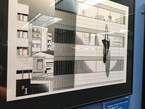 Exposición Manga en construcción