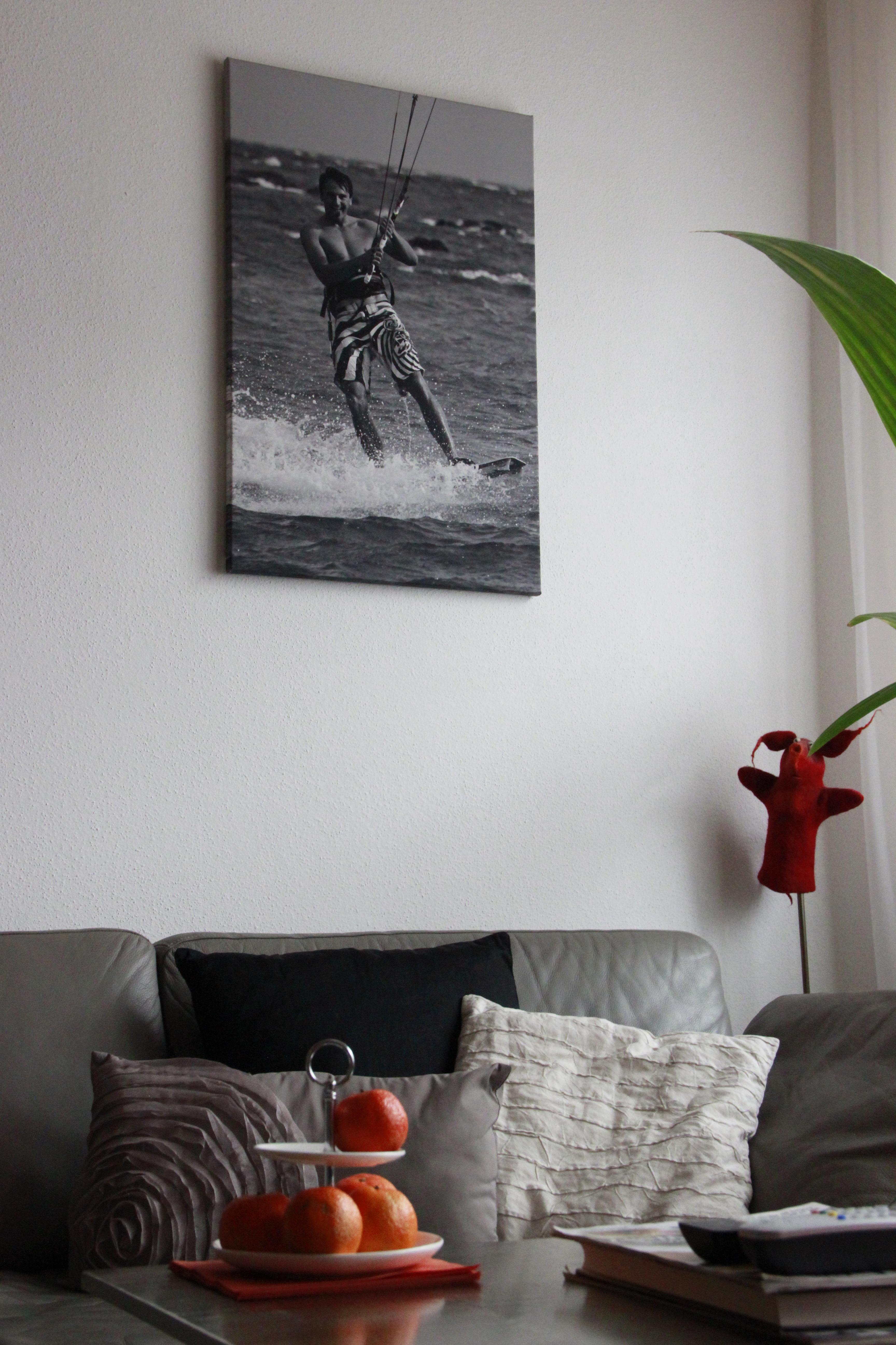pers nliche geschenke die fotoleinwand. Black Bedroom Furniture Sets. Home Design Ideas