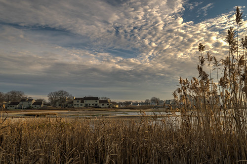 morning sky clouds geotagged nikon unitedstates connecticut wetlands marsh hdr westbrook nikond5300
