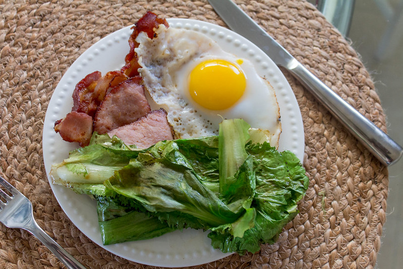 12.05. Crispy ham and Escarole breakfast