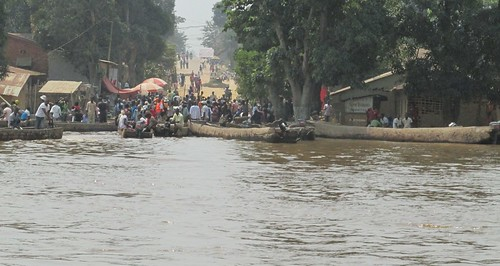 river crossing moved into the streets