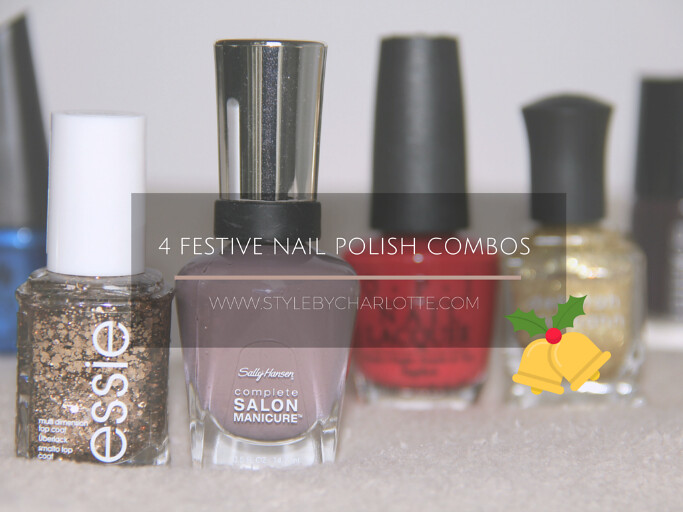 Festive Nail Polish Combos for the Holidays I Style By Charlotte