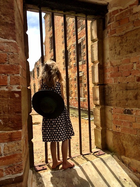 Daisy in the penitentiary. Port Arthur.