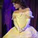 Belle in Beauty and the Beast show at the Royal Theatre in Disneyland