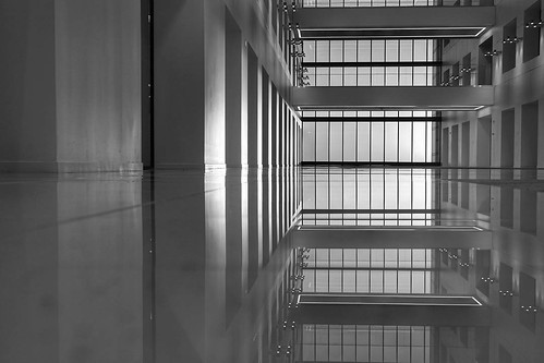 ifttt instagram bnw blackandwhite building sunrise window skyscraper office atrium