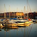 Boats at Preston Docks