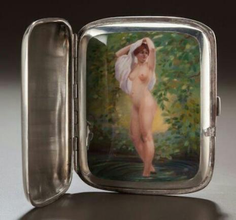 最頹廢的藝術品 20世紀初期煙盒,上流人士手中的情色秘密9