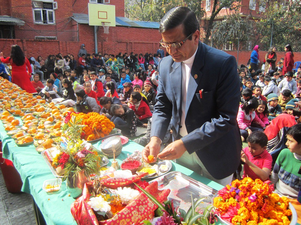Saraswati Puja Celebration 2073