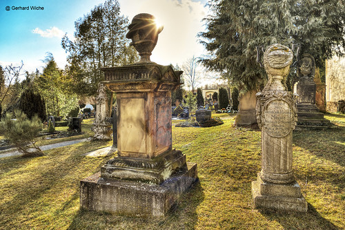 Gräber aus dem 19. Jh.