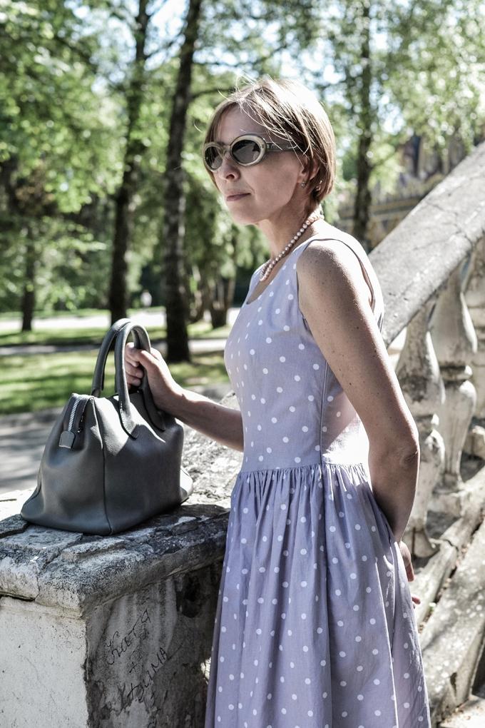 pastel polkadot dress 7