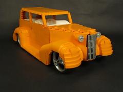 """Calypso"" 1937 Chevy Town Sedan Show Rod"