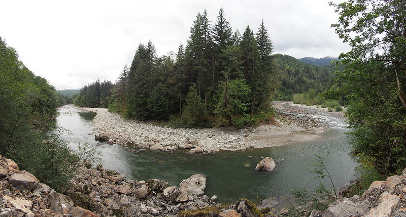 Middle Fork Snoqualmie Bend: Mercator projection