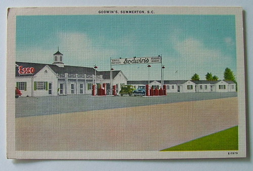 Godwins Motel Summerton front