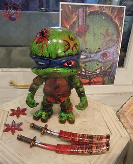 tOkKustom :: LOYAL SUBJECTS 'Katana Lobotomy' LEONARDO ix