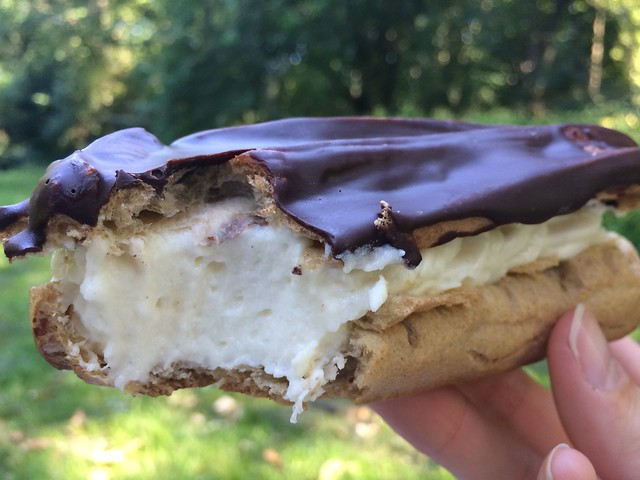 Eis Voh chocolate eclair _Berlin gluten-free ice cream