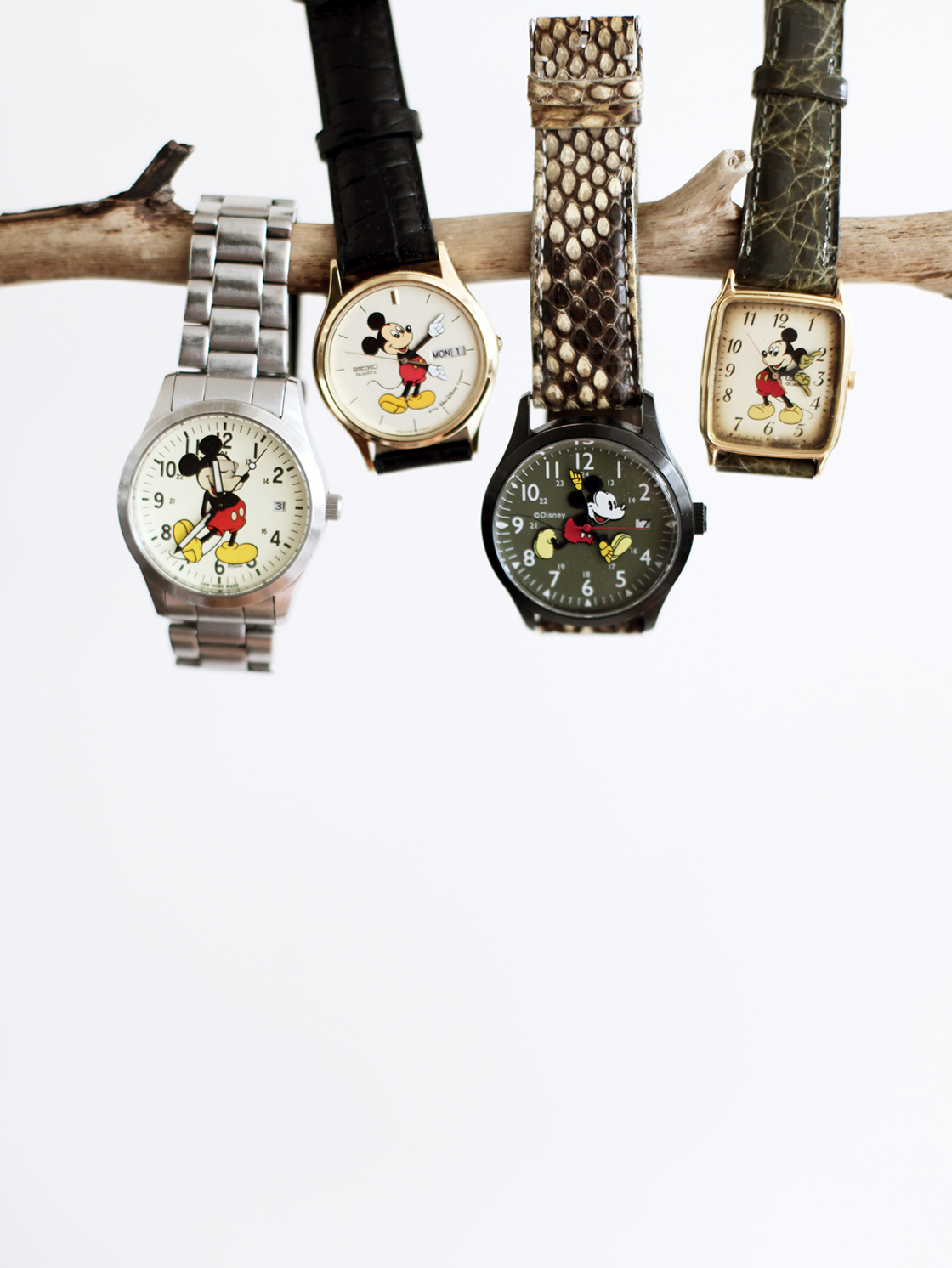 my collection of mickey watches
