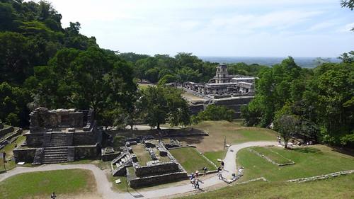Panorama di Palenque