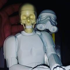 Working on something a little different #halloween #RagingNerdgasm #TomKhayos #ToyGameScroogeMcDuck #customtoys #repainted #resin #toyart #arttoys #StarWars #stormtrooper #toysagram #ToysAreMyDrug #toyhunting #toyhorder #ToyGamePabloPicaso