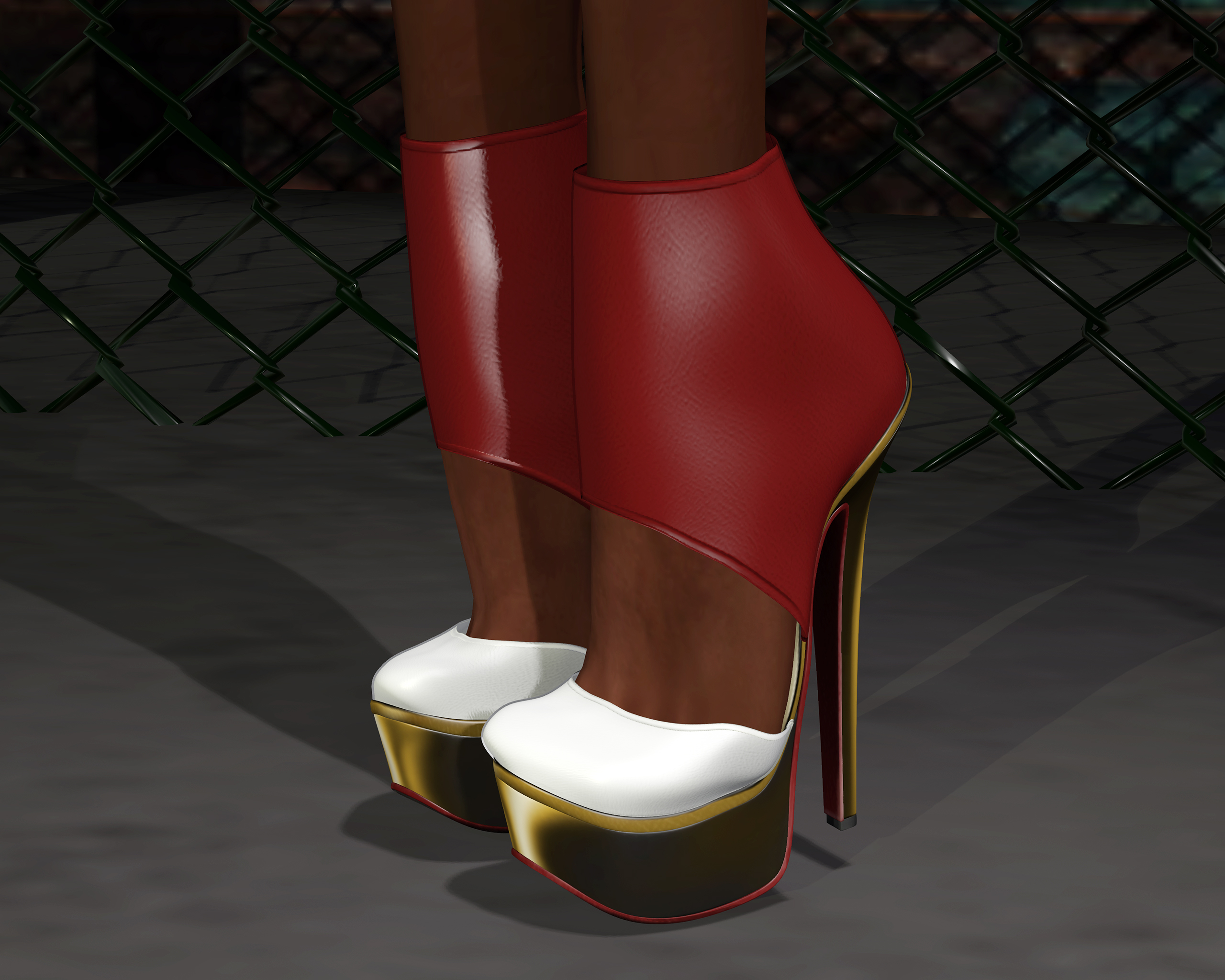 Foot fetish: Tchelo's Power Heels