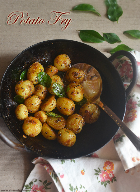 Small Potato Fry Recipe