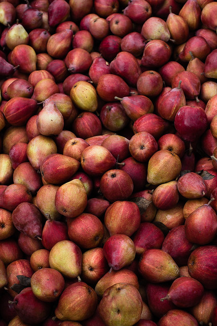Sweet Quinoa Porridge with Maple Roasted Pears via forkknifeswoon.com