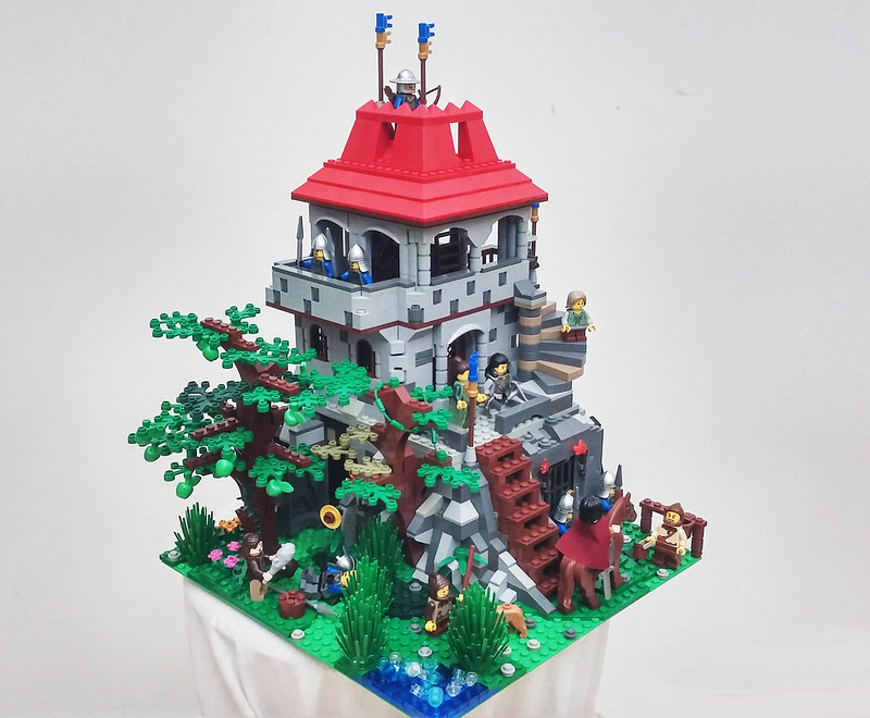 [MOC]:The rocky outpost 21767730816_51704dcd78_c
